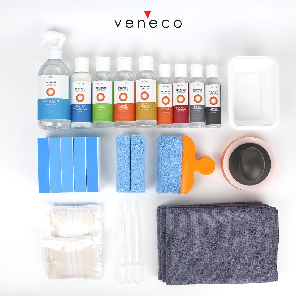베네코 [홈케어풀패키지] 입주 욕실주방 셀프 나노코팅 싱크대 상판코팅 30평대 아파트용